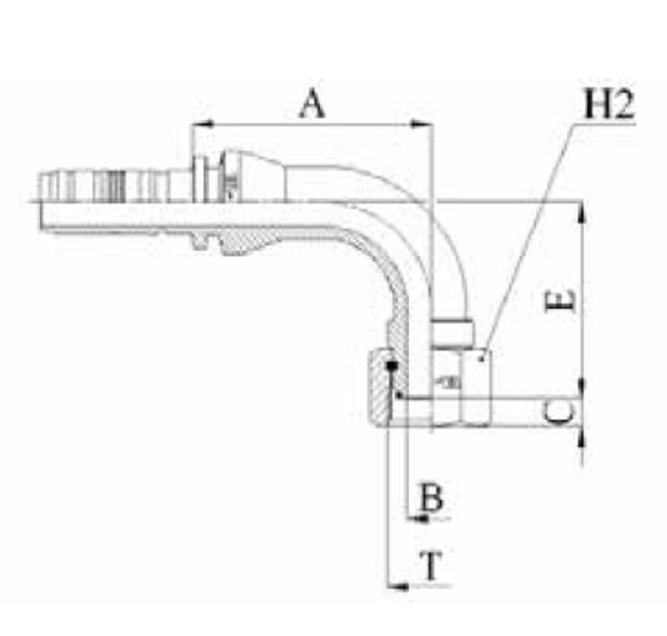 Bild för kategori BSP 90 inv O-ring Spiralfit