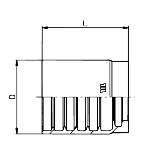 Bild för kategori Skalfri hylsa EN853 1SN/2SN, EN857 2SC m.fl.