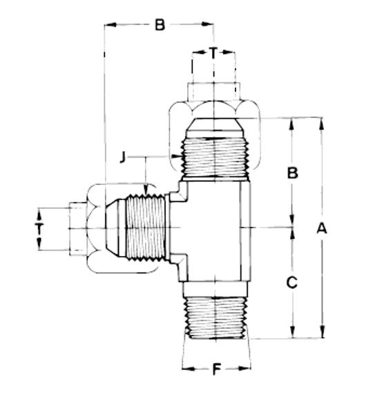 Bild för kategori JIC L-adapter utv/ NPTF utv