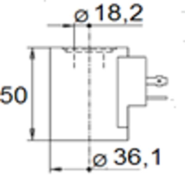 Bild på Magnet (WS10W/WK10C) 28VDC